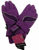 HEAD Jr Sweet Violet Purple Pink Girls Insulated Ski Mittens Winter Gloves NWT