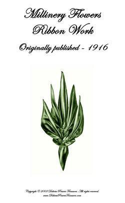 1916 Millinery Book Titanic Flapper WWI Make Hat Flowers Trim Hats DIY Milliner5