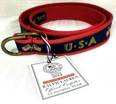 Polo Ralph Lauren Limited Edition US Olympic Team 2014 Sochi Olympic Bel... - $111.54