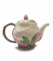 Franciscan Pottery Desert Rose Pattern Made in Portugal Teapot Blown Out... - $37.36
