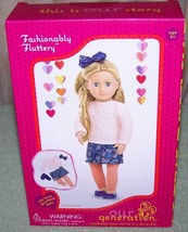 Our Generation Fashionably Fluttery Outfit in Box New - $18.88