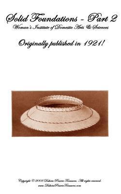 1921 Millinery Book Make Roaring 20s Flapper Hat Frame Foundations DIY Milliner2