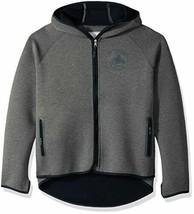 NHL Touch Vancouver Canucks Hockey Hooded Full-Zip Jacket Gray Size Medium - $31.16