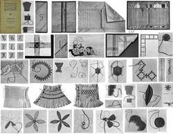 1922 Flapper Era Embroidery Book Stitches Patterns for Quilts Clothes Linens DIY
