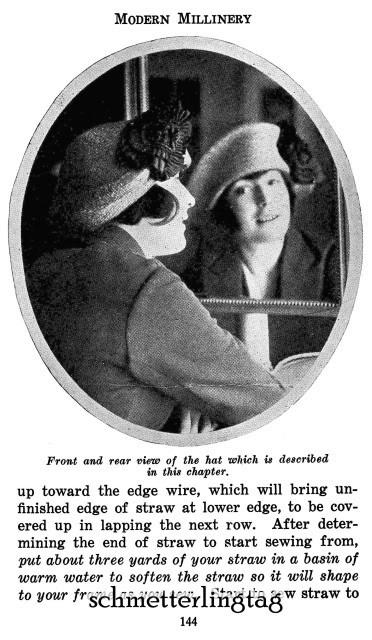 1922 Modern Millinery Book Flapper Hat Making Make Roaring 20s Hats DIY Milliner