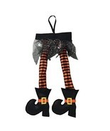 New Hanging Witch Legs Perfect For Car Halloween Decor Cute Small Party ... - $49.40