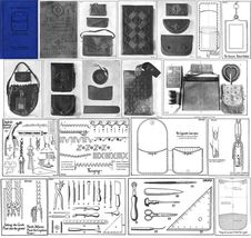 1925 Flapper Era Leather Work Book Purses Bags Handbag Bag Patterns - $12.99