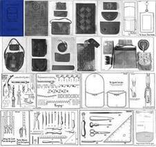 1925 Flapper Era Leather Work Book Purses Bags Handbag Bag Patterns image 2