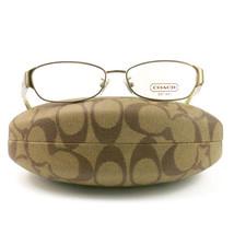 COACH 5018 9002 Eyeglasses Sand 53 15 135 Demo Lens without case finish line - $56.05