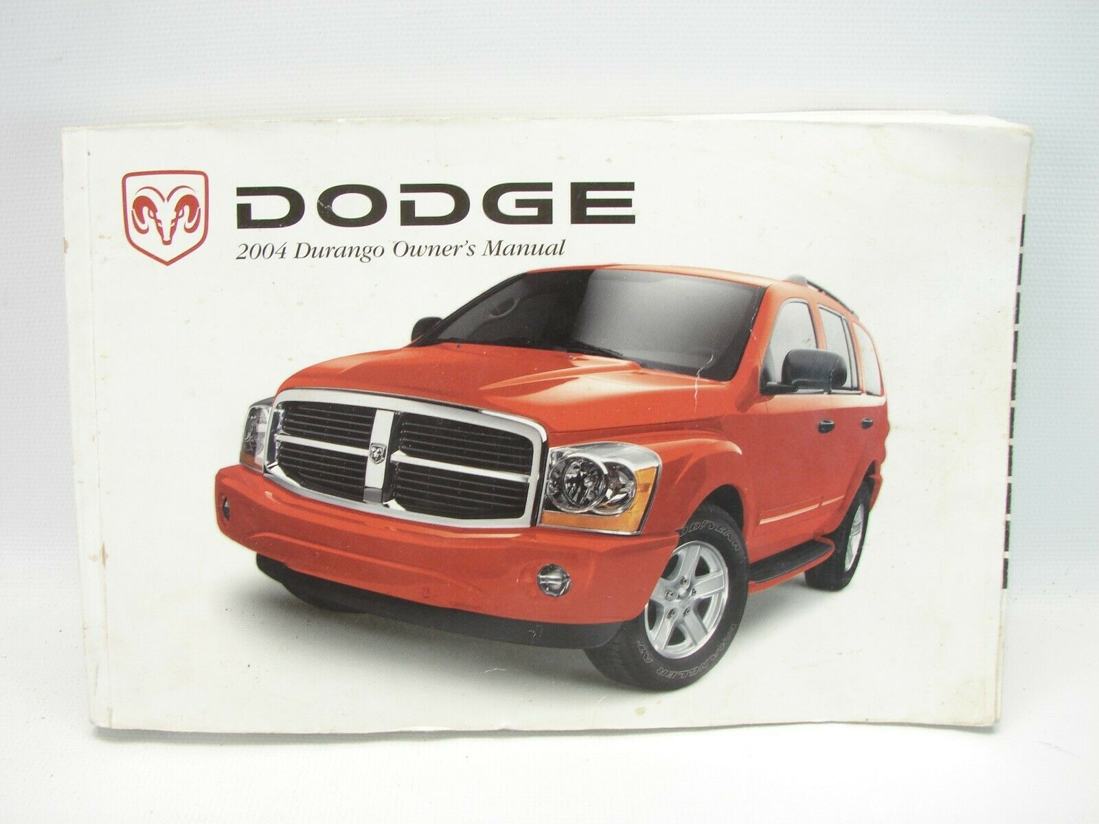 2004 Dodge Durango Owner's Manual (T85)