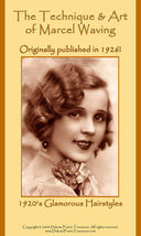 1926 Flapper Era Hairstyle Book Marcel Wave Elegant 20s Hairstyles Beautician - $14.99