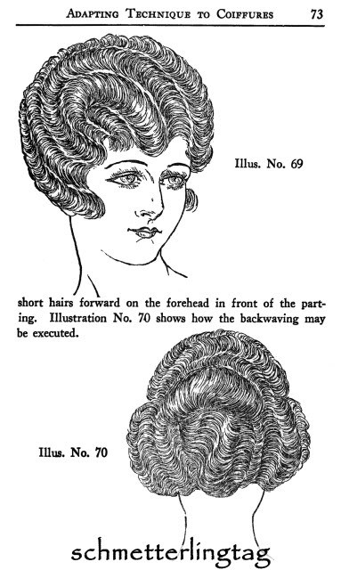 1926 Flapper Era Hairstyle Book Marcel Wave Elegant 20s Hairstyles Beautician