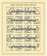 1926 Flapper McKim Embroidery Iron-on Transfers Peter Pan Quilt DIY Desi... - $6.99