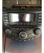 03 04 05 06 07 HONDA ACCORD RADIO 6 CD PLAYER CLIMATE CONTROL - $277.18