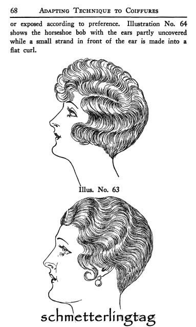 1926 Hairstyles Book Roaring 20s Flapper Marcel Wave Hair Styles DIY Beutician