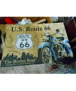 1996 America's Route 66 The Mother Road Chicago to Santa Monica Motorcyc... - $15.83