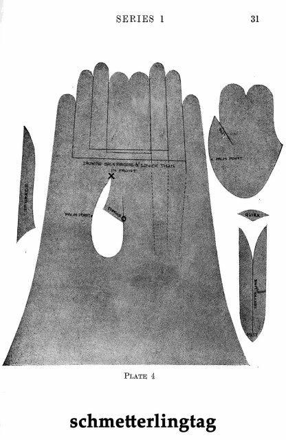 1929 Glove Making Book Make Leather Retro DIY Gloves Mittens Moccasins Making