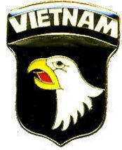 12 Pins - 101st AIRBORNE VIETNAM war hat lapel pin #18 - $9.50
