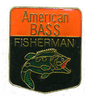 12 Pins - AMERICAN BASS FISHERMAN fish hat cap pin #278