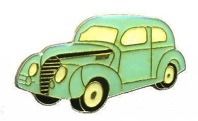 12 Pins - CAR , classic antique hat tac lapel pin #128 Bonanza