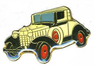 12 Pins - CAR , classic antique hat tac lapel pin #129 Bonanza