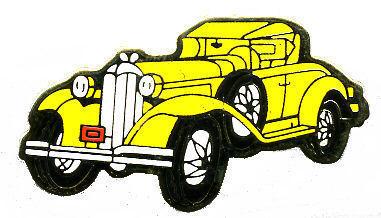 12 Pins - CAR , classic antique hat tac lapel pin #146 Bonanza