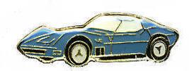 12 Pins - CORVETTE , blue vette car pin 136 - $9.50