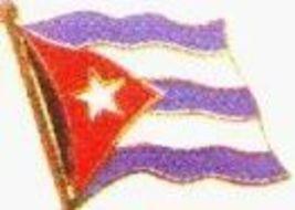 12 Pins - CUBA , cuban flag hat tac cap lapel pin #552 - $9.50