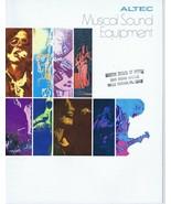 ORIGINAL Vintage 1970s Altec Musical Sound Equipment Catalog - $27.86
