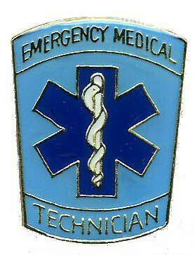 12 Pins - EMERGENCY MEDICAL TECHNICIAN , emt pin 723