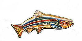 12 Pins - FISH fishing fisherman hat cap lapel pin #272 - $9.50