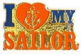 12 Pins - I LOVE MY SAILOR , navy hat cap lapel pin 597 - $9.50
