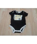 Infant/Baby Iowa Hawkeyes 3/6 Mo Creeper One-Piece Fan Checklist Pro Edge - $7.69