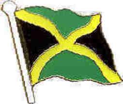 12 Pins - JAMAICA , jamaican flag hat cap lapel pin 557 - $9.50