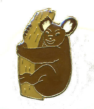 12 Pins - KOALA BEAR ON TREE hat tac lapel cap pin #315