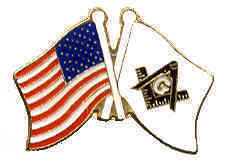 12 Pins - MASONIC & AMERICAN FLAGS mason us us pin 644
