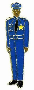 12 Pins - POLICE OFFICER , policeman cop pin 721