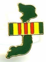 12 Pins - SHAPE OF VIETNAM , war veteran lapel pin 742 - $9.50