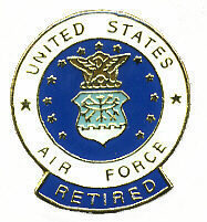 12 Pins - UNITED STATES AIR FORCE RETIRED usaf pin #50