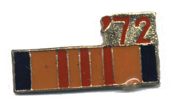 12 Pins - '72 , 1972 vietnam war veteran pin #4757 Bonanza