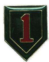 12 Pins - 1ST INFANTRY DIVISION army hat lapel pin 1925 - $9.00