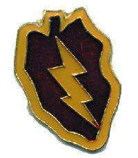12 Pins - 25th INFANTRY DIVISION , hat lapel pin #1941 Bonanza
