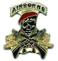 12 Pins - AIRBORNE , military hat tac lapel pin #1935 Bonanza