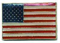 12 Pins - AMERICAN FLAG , usa hat tac lapel pin #4576 Bonanza