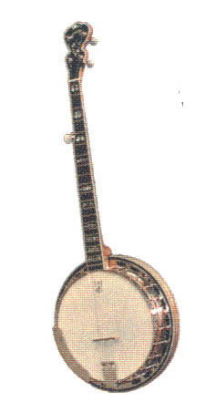 12 Pins - BANJO , music hat tac lapel pin #4871 Bonanza