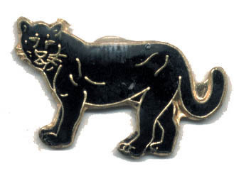 12 Pins - BLACK PANTHER , hat tac lapel pin #1645 Bonanza