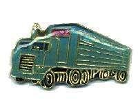 12 Pins - BLUE SEMI TRUCK , trucker hat lapel pin #165 Bonanza