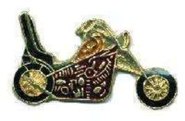 12 Pins - CHOPPER MOTORCYCLE , biker hat lapel pin #134 - $9.00