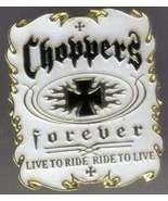 12 Pins - CHOPPERS FOREVER chopper motorcycle pin #4930 - $9.00