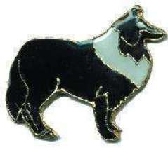 12 Pins - COLLIE DOG , hat tac lapel pin #4762 - $9.00